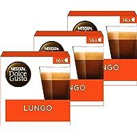 Nescafé Dolce Gusto Lungo Koffie Cups - 3 Doosjes Met 16 Capsules