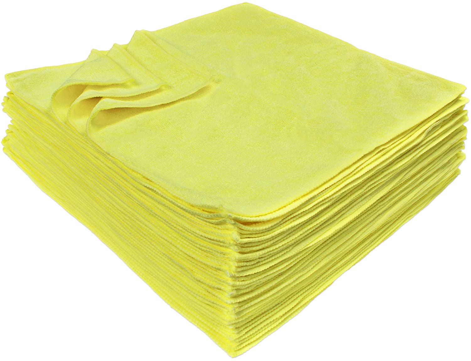 Eurow Microfiber Premium 16in x 16in 350 GSM Cleaning Towels 36-Pack DP-MT-16-36