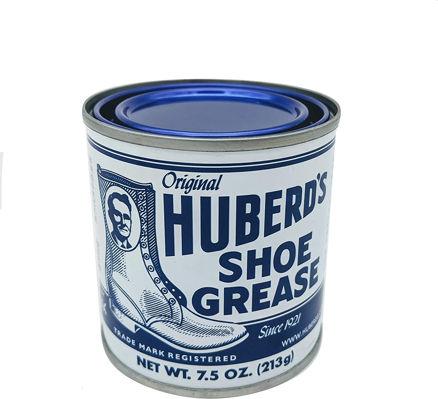Huberd's Shoe Grease, 7.5oz: Waterproofs, Softens, Conditions Leather. Protects Shoes, Boots, Sporting Goods, Saddle & Tack. Restores Dry, Cracked, Scratched Leather. Small Batched since 1921!: Home & Kitchen