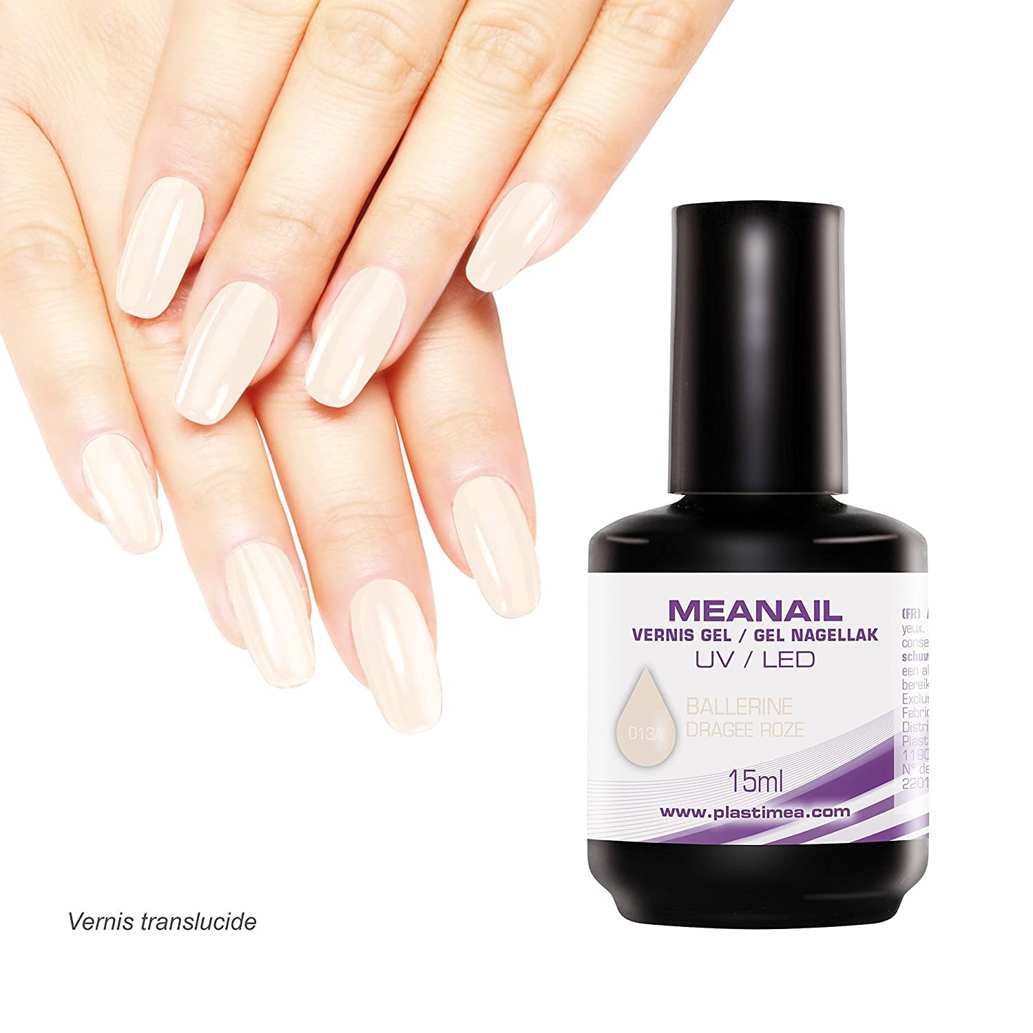 MEANAIL PARIS UV LED Nagellack – PREMIUM-LACK – SEMIPERMANENTER ...
