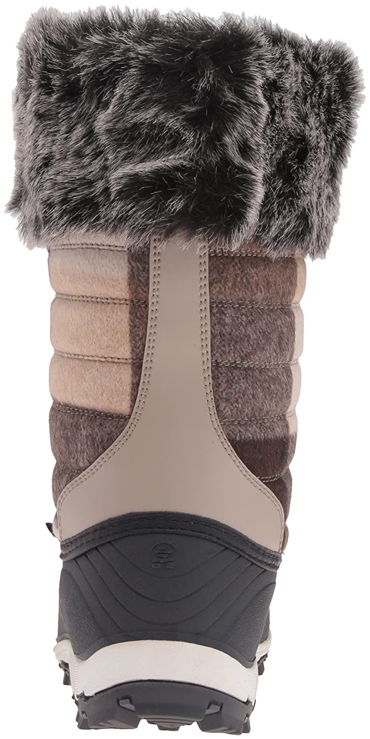 Kamik Women's Haley Snow Boot B0198WTFF6 8 B(M) US|Taupe