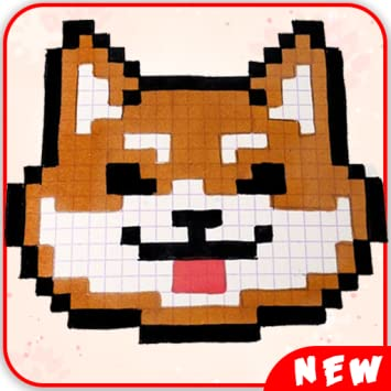 Amazoncom Best Cute Animals Pixel Art Color By Number