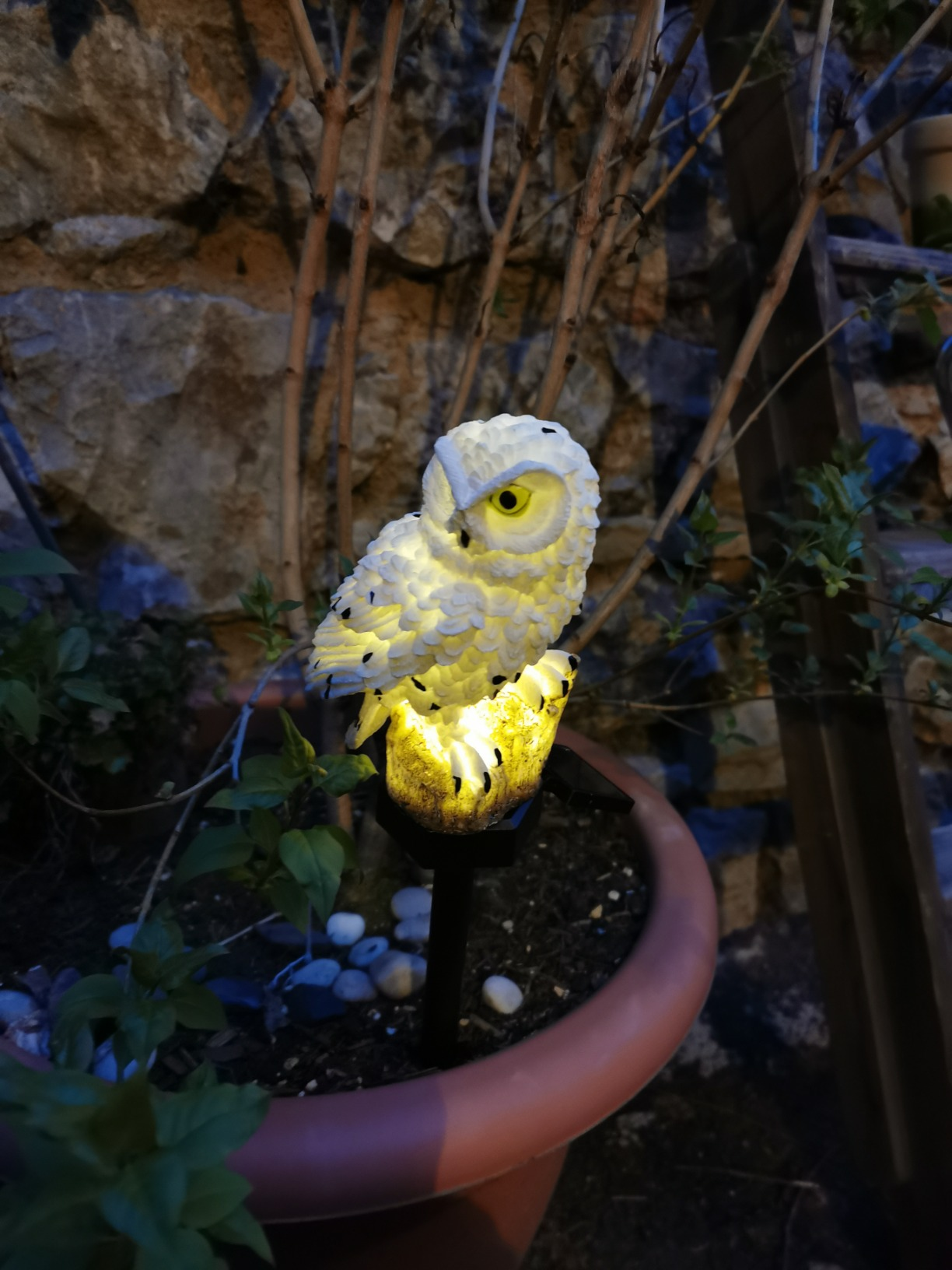 "Solar Lampe ""Eule"" photo review"