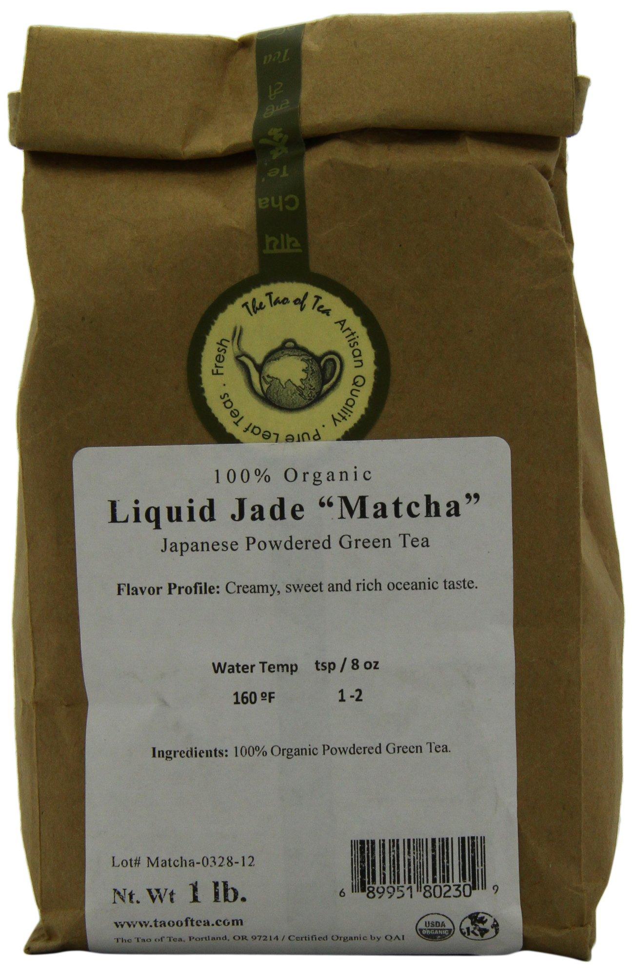 The Tao of Tea Liquid Jade Matcha, 1-Pounds