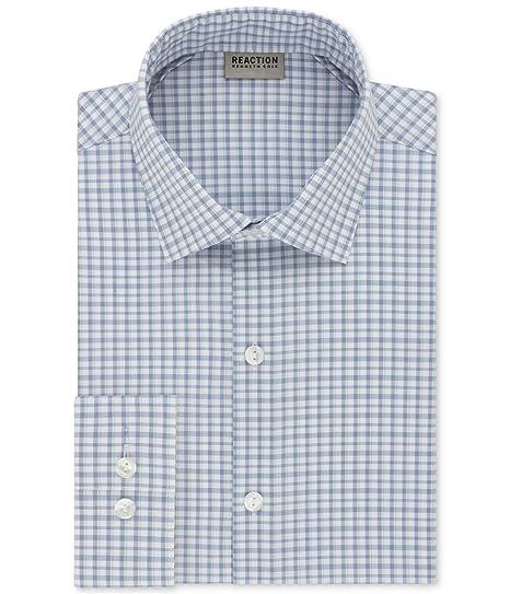 Men's Clothing Shirts Kenneth Cole Mens Techni-cole Button Up Dress Shirt