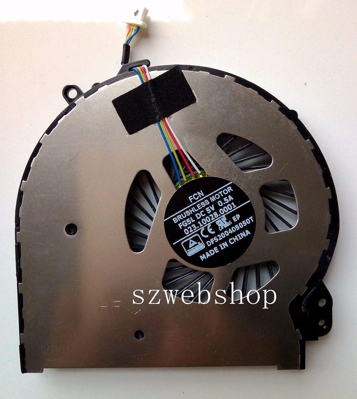 FidgetGear New15-5000 15T-5000 15-5100 15-5200 15-5010NR CPU Fan DFS200405050T