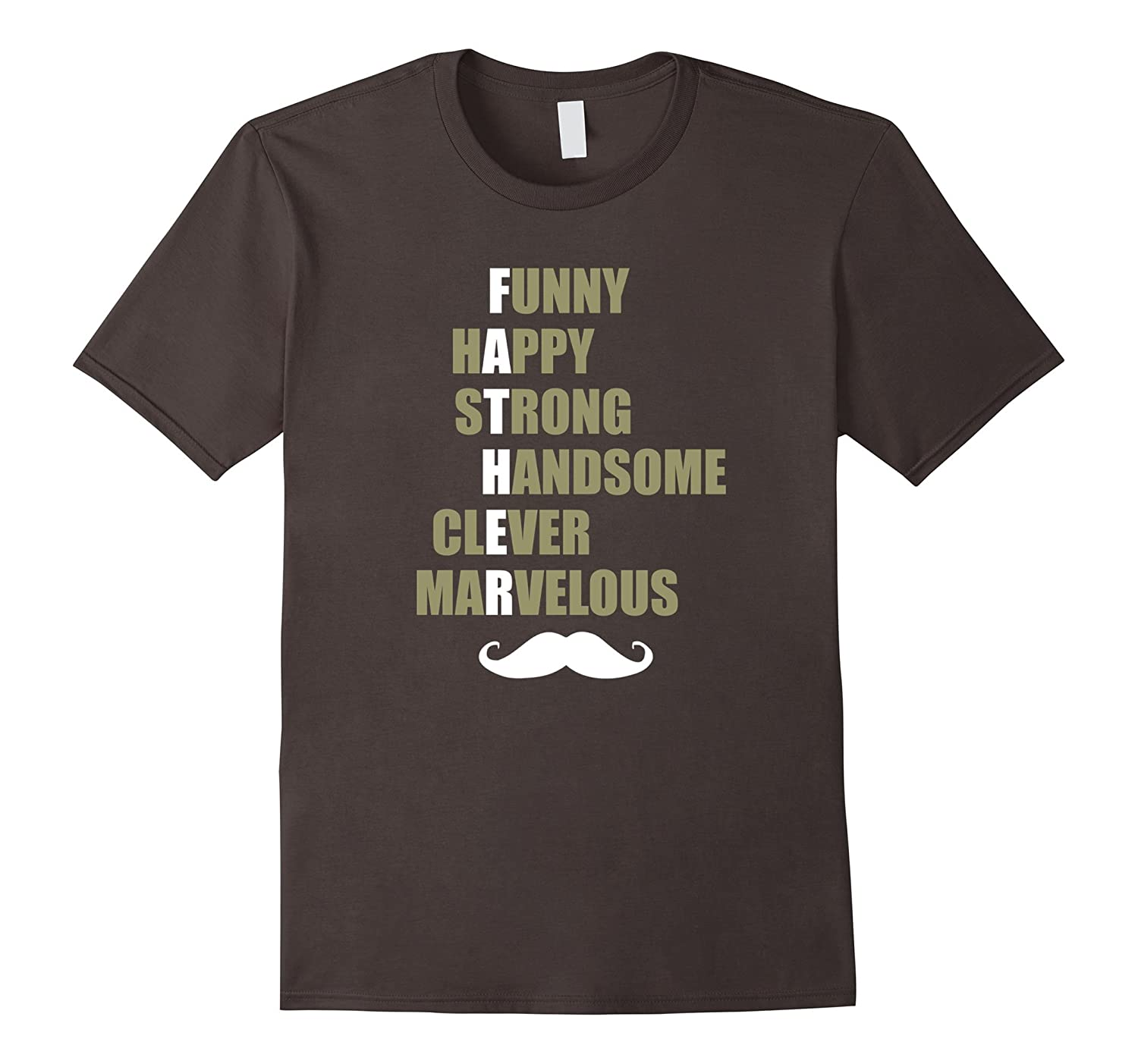 Awesome DAD Funny Daddy Fathers Day Birthday Christmas Shower Gift Tee T Shirt