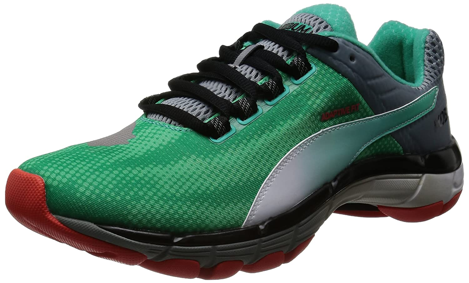 0166d3bacb2 Puma Mobium Elite Speed Running Shoes - 10.5 Green  Amazon.co.uk  Shoes    Bags