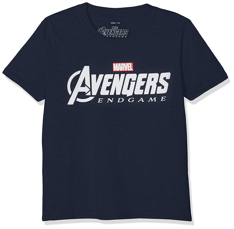Marvel Avengers Endgame Logo Camiseta para Niños: Amazon.es: Ropa y accesorios