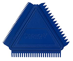 Purdy 503172000 Symphony Series Triangular Graining Comb, 3 inch