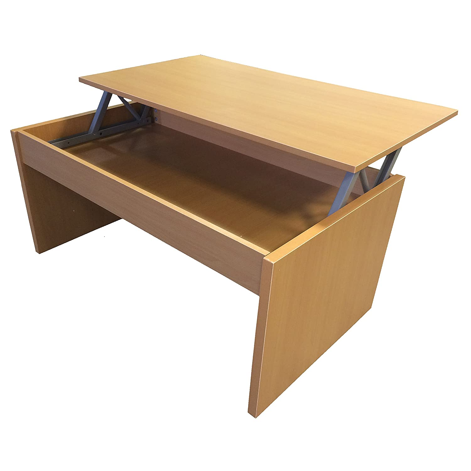 Redstone Beech Coffee Table Lift Top with Storage Amazon