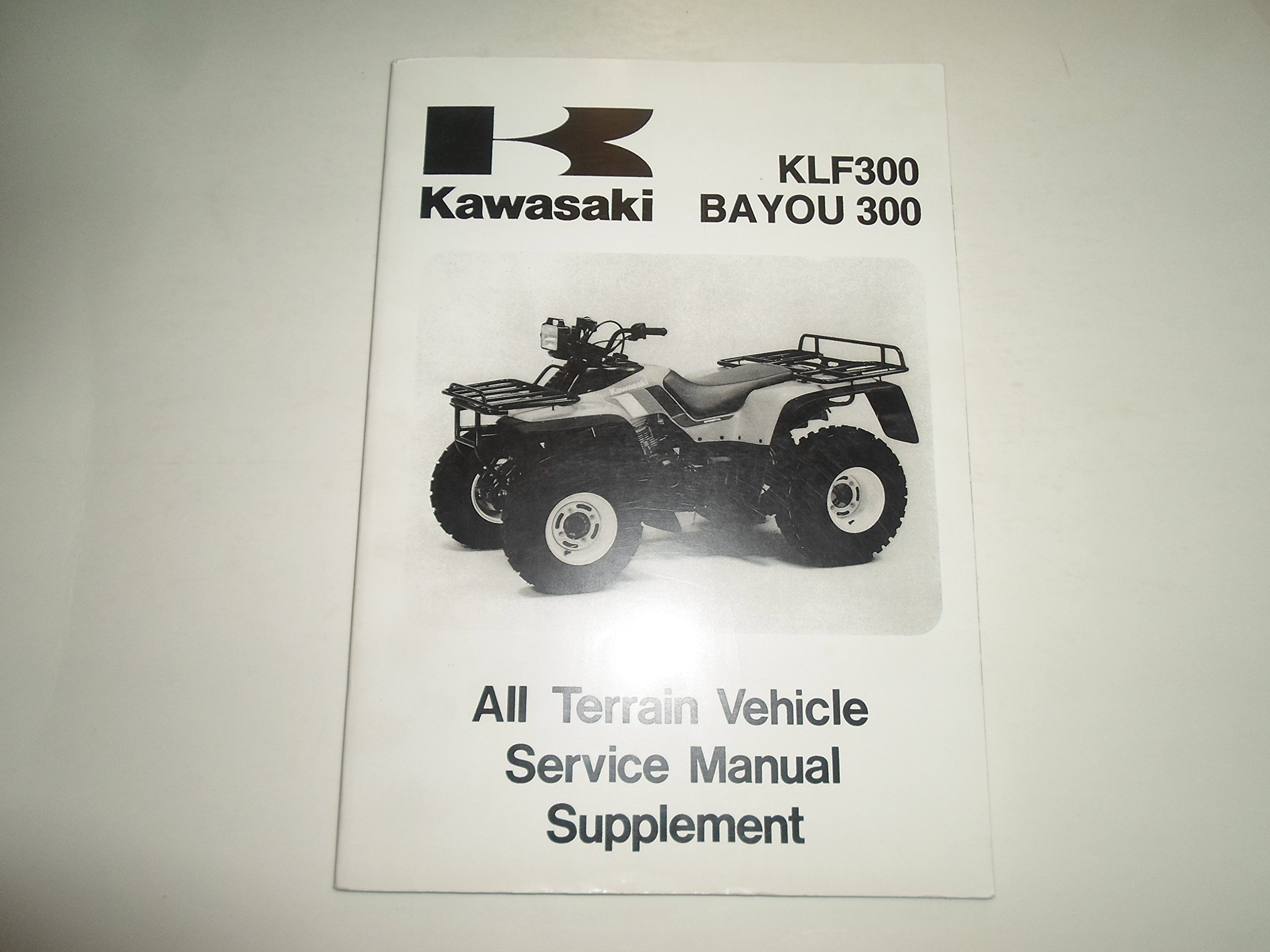 1988 2006 kawasaki klf300 bayou 300 atv service manual supplement rh amazon  com Kawasaki KLF 300 Kawasaki KLF 300 4x4