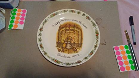Vintage 1972 christmas holly hobbie commemorative edition made in.