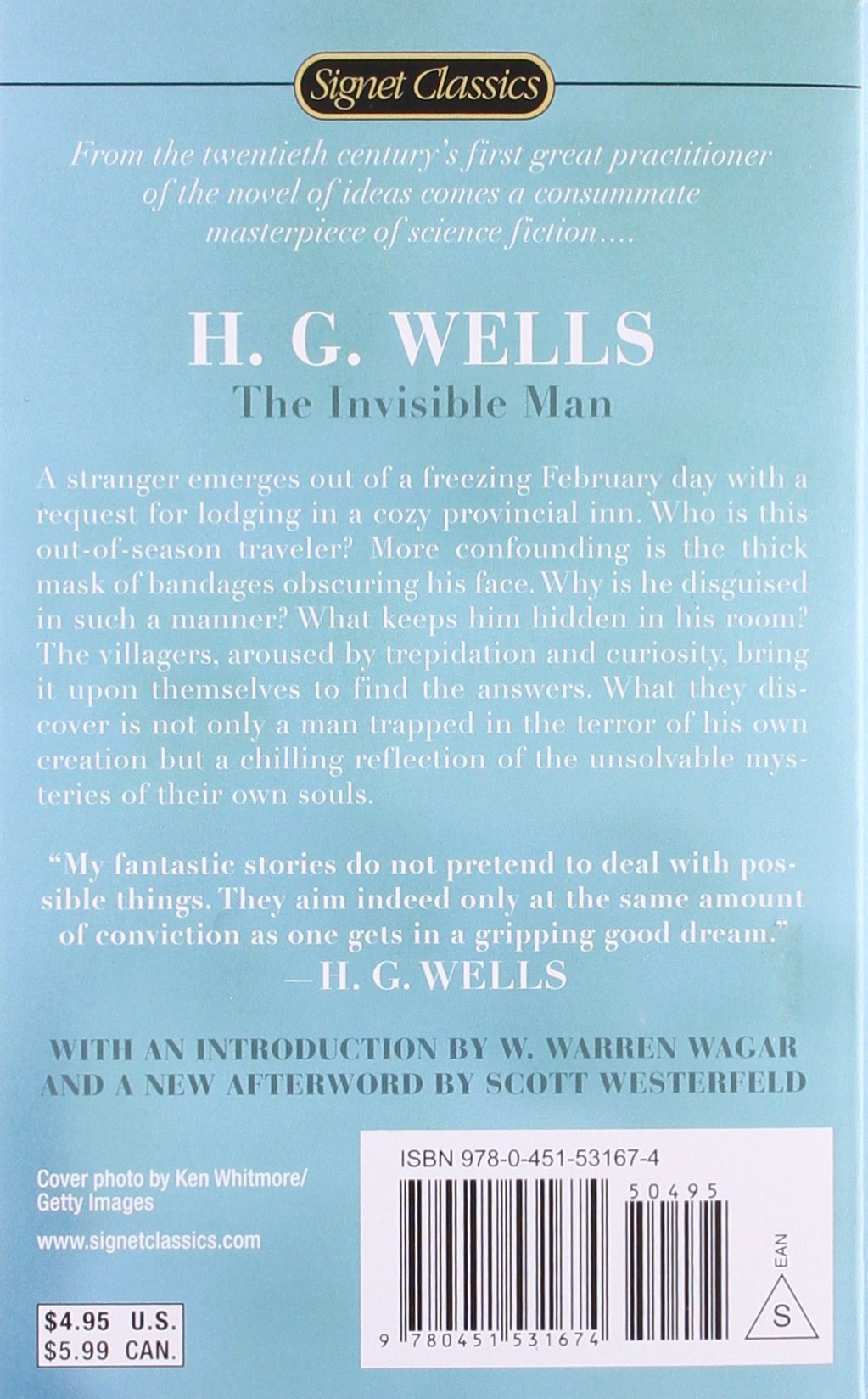 the invisible man signet classics h g wells w warren wagar  the invisible man signet classics h g wells w warren wagar scott westerfeld 9780451531674 amazon com books