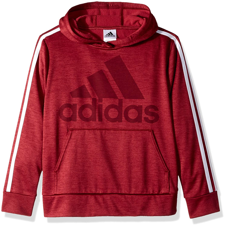 adidas Boys Athletic Pullover Hoodie