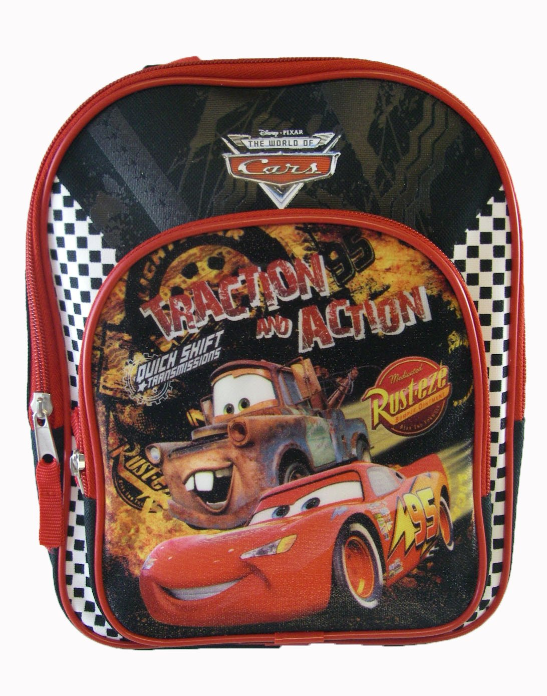 Disney Pixar Cars toddler backpack - Mator and Lightning McQueen in action  mini backpack  Amazon.co.uk  Luggage 8a97e8fdc14a8