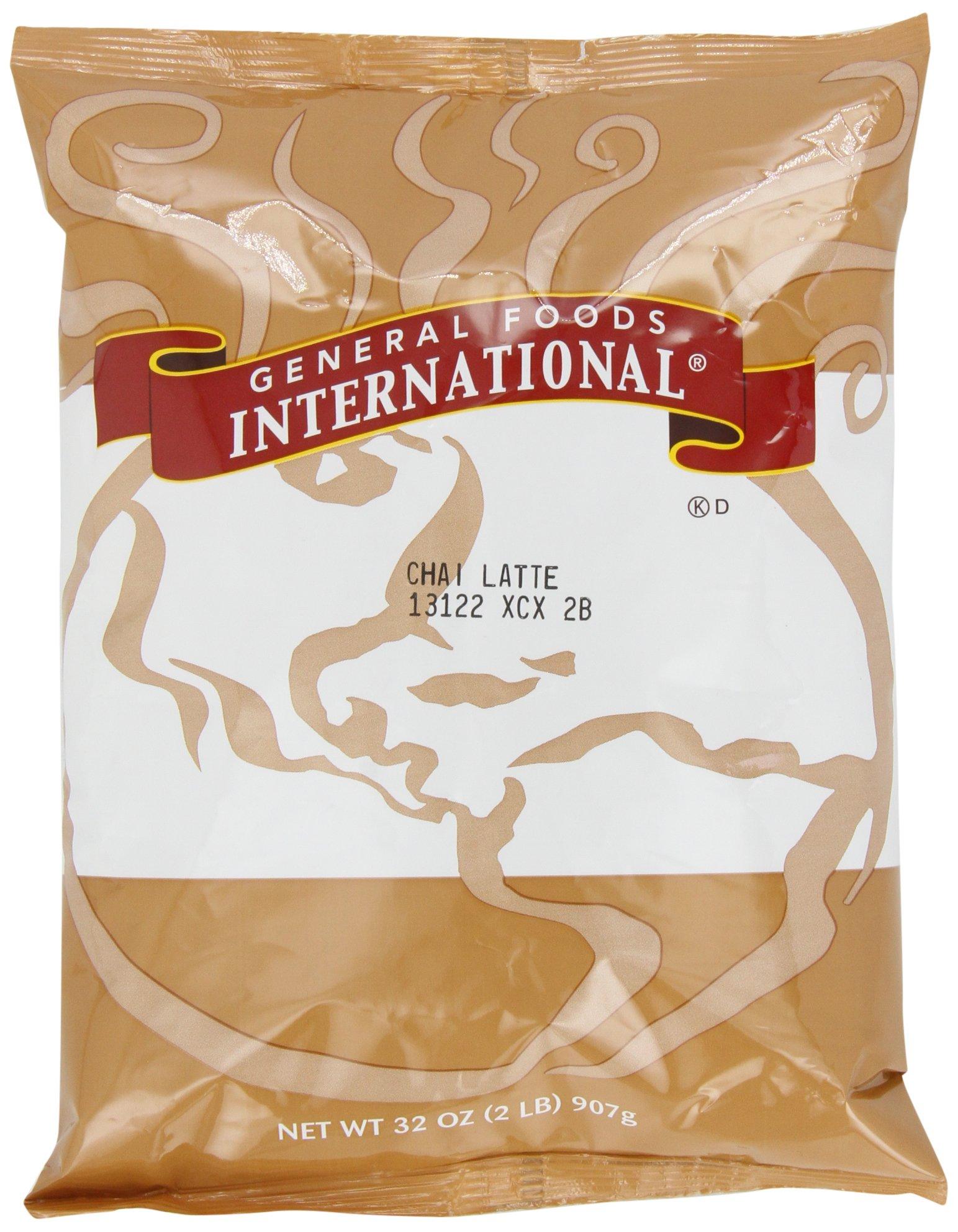 General Foods International Chai Latte Tea Mix (2 lbs Bags, Pack of 6) by General Foods International Coffee