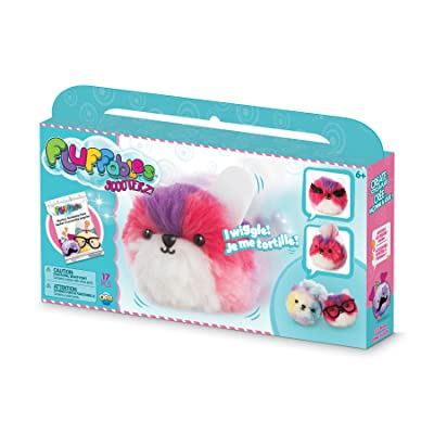 "Orb The Factory Fluffables Ice Cream Motion Arts & Crafts, Purple/Pink/White, 11.75"" x 2"" x 6"": Toys & Games"