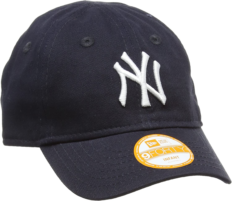 New Era Era Era Era Era Kids MLB Basic NY Yankees 9FORTY Adjustable Light Royal Berretto per Bambini e Ragazzi