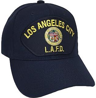 Amazon com: City of Los Angeles Fire Department LAFD Beanie Black