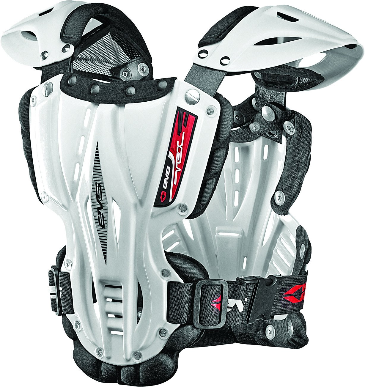 EVS Vex Chest Protector (LARGE) (WHITE)