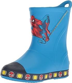 8e8ba534331b8e Crocs Kids  Bump It Spiderman Boot Slip-On
