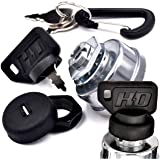 HD Switch Replaces Country Clipper E-5873, E-6440 Starter Ignition Key Switch - Ultimate Dual Protection Upgrade - 3…