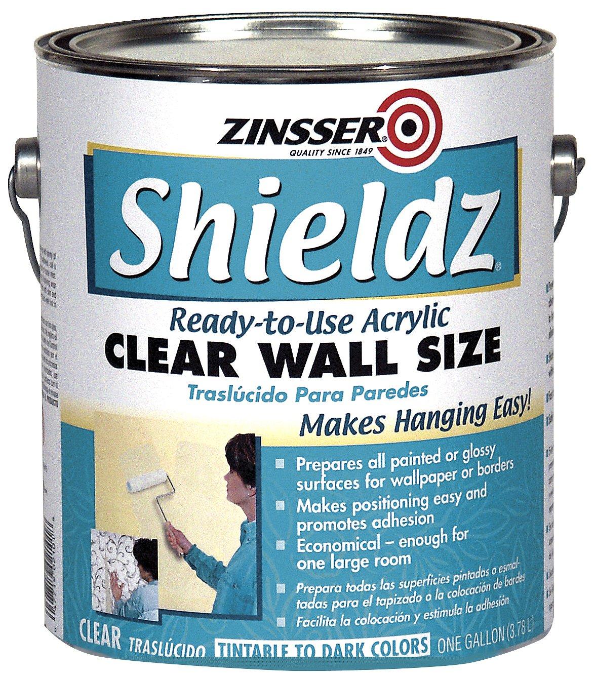 Rust-Oleum Corporation 02101 Zinsser Shieldz Wall Size, 1-Gallon, Clear