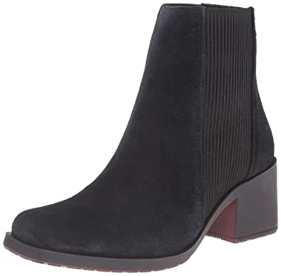 Naya Women's Gang Chelsea Boot, Black, ...