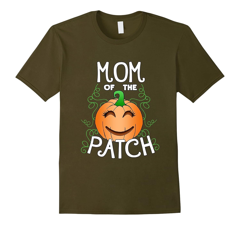 Halloween Pumpkin Mom of the Patch T Shirt-FL