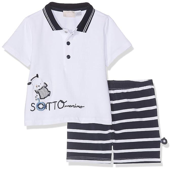 Chicco Baby-M/ädchen Polo Manica Corta Poloshirt