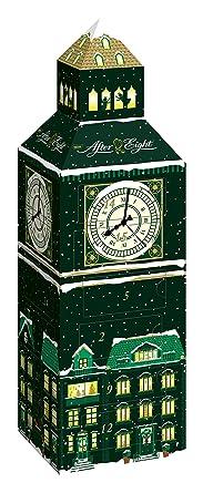 Schokoladen Weihnachtskalender.Nestlé After Eight Adventskalender Weihnachtskalender Für Erwachsene Mit Feinster Schokolade Dekoratives Big Ben Design Menge 1 X 185 G