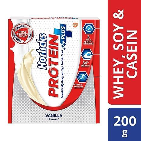 Horlicks Protein+ Health and Nutrition Drink Refill Pack - 200 g (Vanilla)