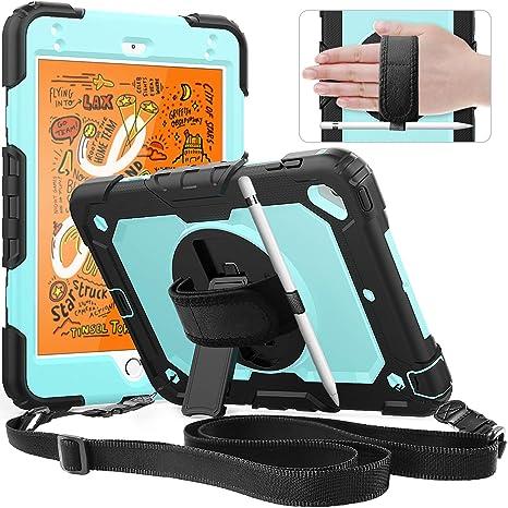 brand new df930 e677b iPad Mini 5 Case,iPad Mini 4 Case, SXTech [Full-Body] Drop Proof  &Shockproof Hybrid Armor Case with 360 Rotating Stand [Pencil Holder]  Screen ...