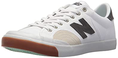 Mens New Balance Classics Procts1 White Tennis Shoes Z48949