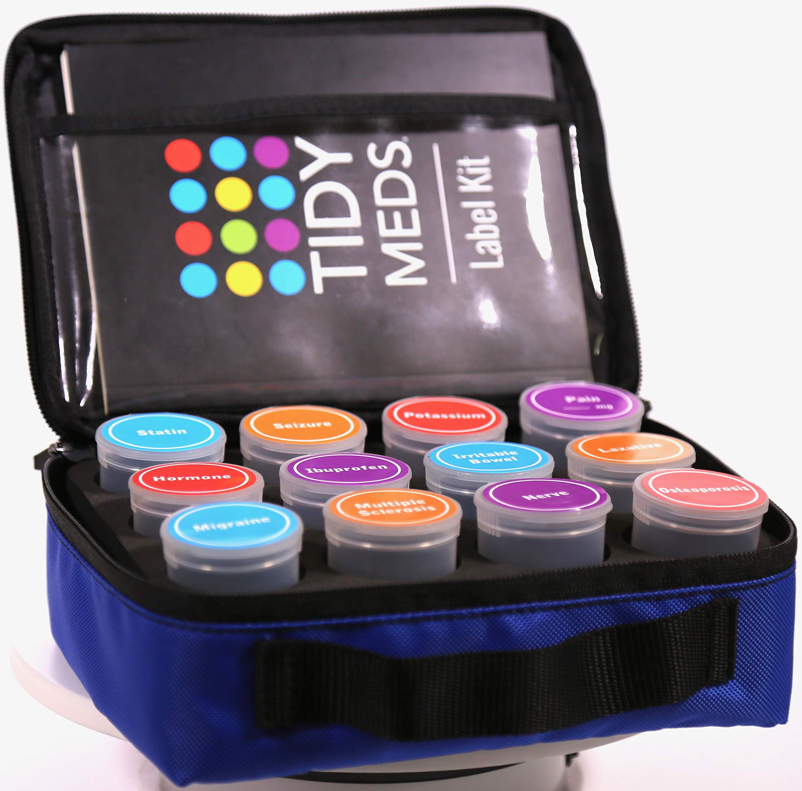 Tidy Meds Pill Organizer by Tidy Meds Pill Organizer