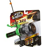 Fly Wheels Launcher + 2 Moto Wheels - Rip it up to 200 Scale MPH, Fast Speed, Amazing Stunts & Jumps up to 30 feet! All Terrain Action: Dirt, Mud, Water, Snow, Moto FlyWheels - Green