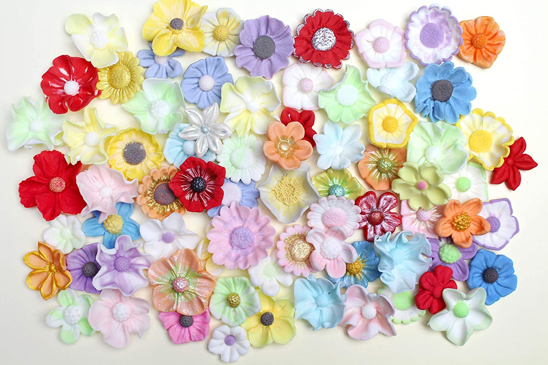 Flores - Katy Sue Designs molde de silicona para decoración de dulces Cupcakes Sugarcraft y caramelos: Amazon.es: Hogar