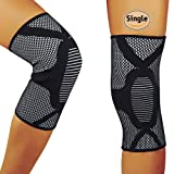 Amazon Price History for:HOFAM Knee Brace Compression, Breathable Knee Sleeve for Running Jogging Basketball Workout Sports - For Men and Women - Relieves ACL LCL MCL - Single