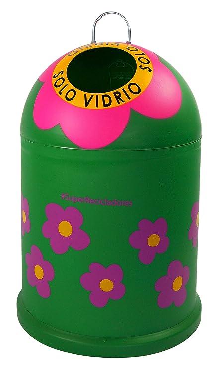 Miniglú AGATHA RUIZ DE LA PRADA Flores Plástico, Verde 45x29 cm