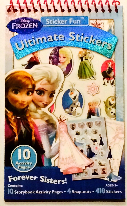 世界的に有名な Disney Frozen Ultimate Stickers Studios by Artistic Artistic Stickers Studios Ltd. B00U1WW3QQ, ブランドマイスター:2d0e9934 --- mvd.ee