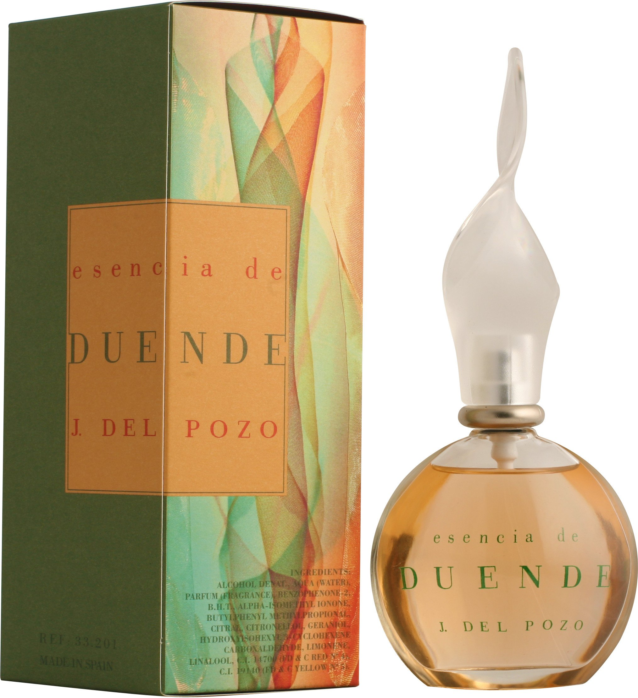 Duende Essencia By Jesus Del Pozo For Women. Eau De Toilette Spray 3.4 Ounces