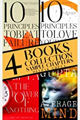 Average Mind | The Power of Nothing | 10 Principles To Beat Failure | 10 Principles To Love Yourself |: Sample Chapters Box Set Kindle Edition