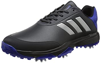 wholesale dealer 3e2fc b6b51 adidas Herren Adipower Bounce Golfschuhe, Grau (CarbonSilver  Metalliccollegate Royal)