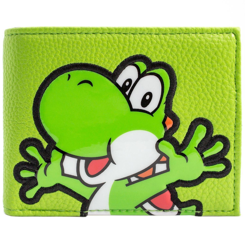 Super Mario World Yoshi Tessuto Style verde portafoglio 29647