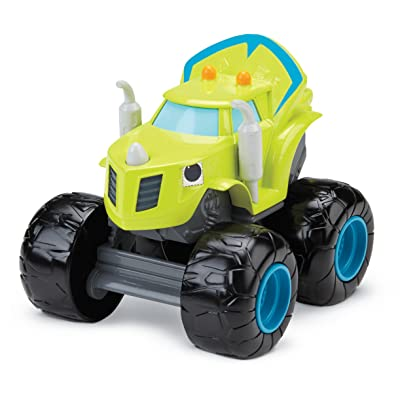 Fisher-Price Nickelodeon Blaze & the Monster Machines, Talking Zeg: Toys & Games