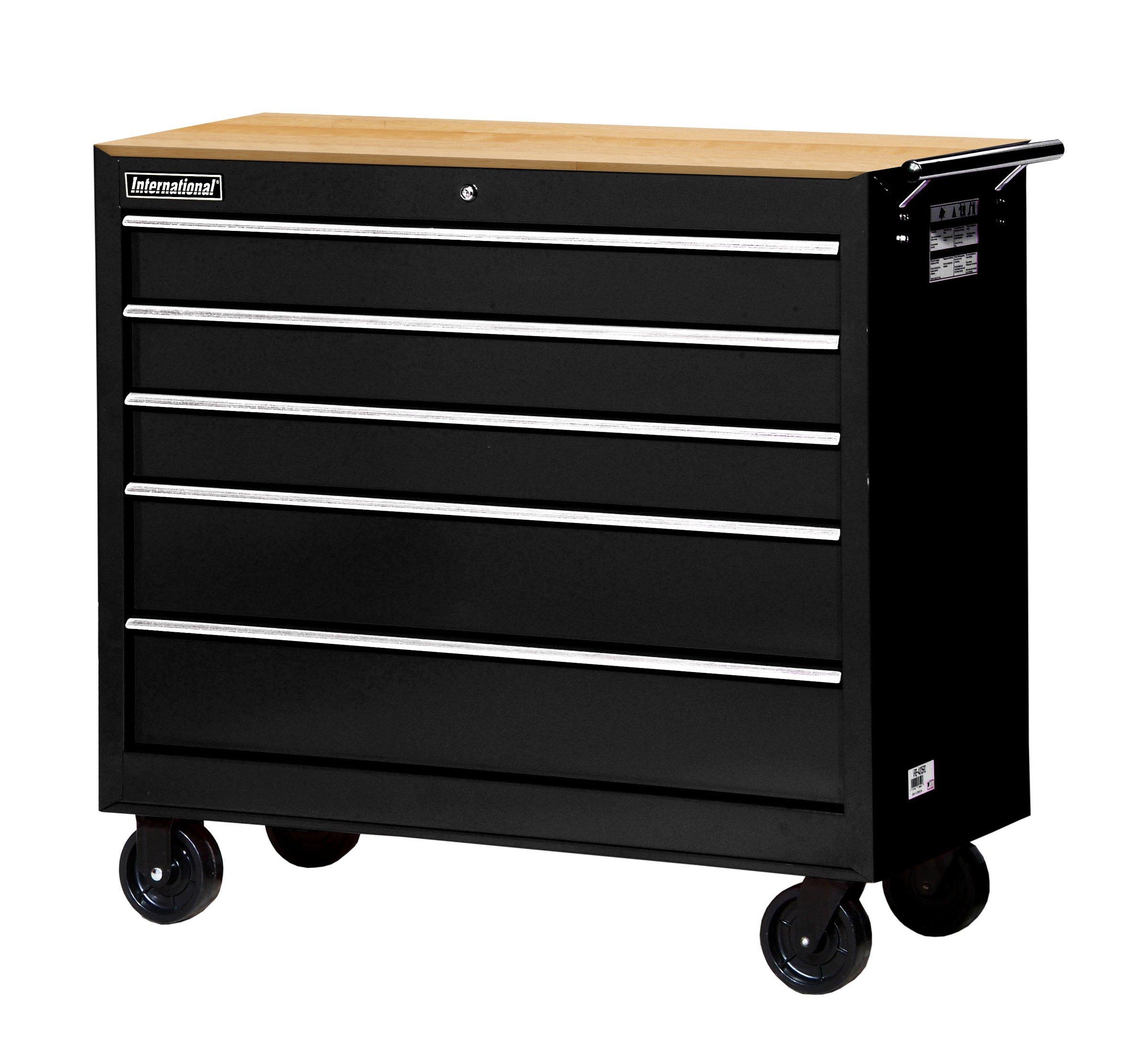 SPG-International Ltee Workshop Series 5 Drawer Mobile Cabinet