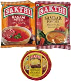 Sakthi Sambar Powder 100gm + Rasam Powder 100gm + Appalam (Pappad) 100gm