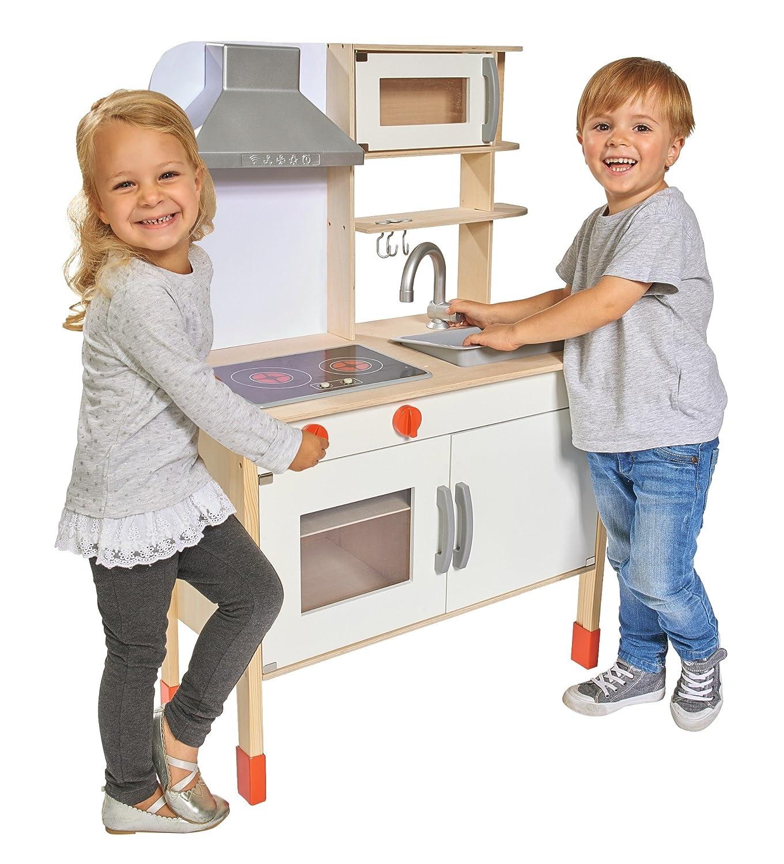 Eichhorn Spielküche mit Geräuschen - Spielküche mit Funktionen