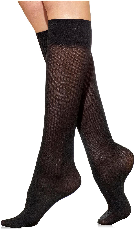 Silkies Women's Classic Ribbed Trouser Socks